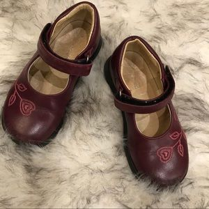 Jacadi Paris leather little girl Mary Janes